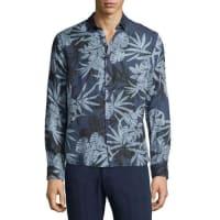 Orlebar BrownMalone Camo-Leaf Printed Sport Shirt