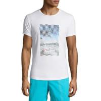 Orlebar BrownWaikiki-Print Short-Sleeve T-Shirt, White Pattern