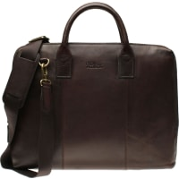 Oscar JacobsonLaptop Bag Classic Dk. Brown