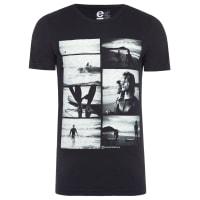 OsklenT-shirt Masculina Organic Rough Rosa Norte May - Preto
