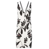 OsklenVestido Curto Orchid Black - Off White