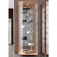 OTTOVitrinekast met spiegelachterwand & 7 glasplateaus