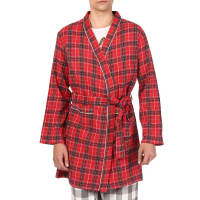 OxolloxoRed Cotton Striped Robe