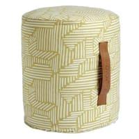 OYOYMini paddy sit pouf cylinder shape, yellow