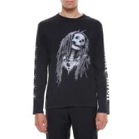 Palm AngelsMetal skull cotton t-shirt, size XXL, Nero
