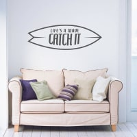 Parkins InteriorsLifes A Wave Wall Stickers