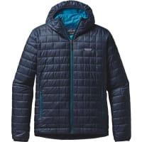 PatagoniaMs Nano Puff Hoody Navy Blue M Syntetiske jakker