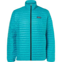PatagoniaQuilted Shell Down Jacket - Turquoise