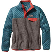 PatagoniaWs Mixed Snap-T Pullover Crater Blue S Fleecetröjor