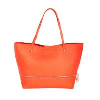 Patrizia PepeTasche - Shopping Bag Zipper New Orange - in orange - Umhängetasche für Damen