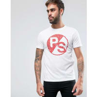 Paul SmithBlock PS T-Shirt Slim Fit in White - White