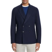 Paul SmithDouble-Breasted Unlined Pique Slim Fit Sport Coat