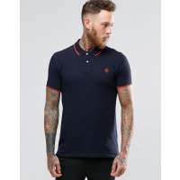 Paul SmithPaul Smith Polo Shirt With PS Logo In Slim Fit Navy - Navy