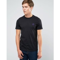 Paul SmithPaul Smith T-Shirt With PS Logo In Slim Fit Black - Black