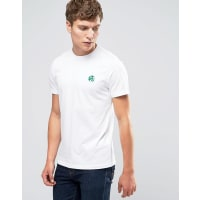 Paul SmithPaul Smith T-Shirt With PS Logo In Slim Fit White - White