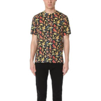 Paul SmithPs By Paul Smith Allover Floral Print Tee - Black
