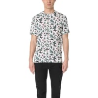 Paul SmithPs By Paul Smith Allover Floral Print Tee - Cream