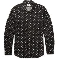 Paul SmithSlim-fit Printed Voile Shirt - Black