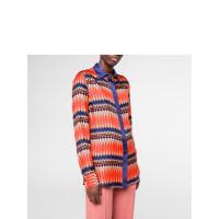 Paul SmithWomens Multi-Coloured No. 9 Print Silk-Twill Shirt