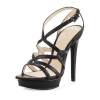 Pelle ModaFarah 2 Strappy Leather Sandal, Black