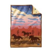 PendletonMuchacho Baby Blanket - Wild Horses