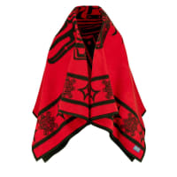 PendletonTHE RAVEN Cape bright red