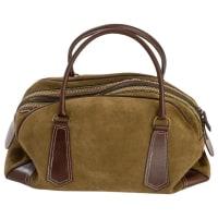 Penelope ChilversPre-Owned - Green Suede Handbag