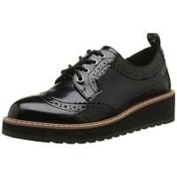 Pepe Jeans LondonRamsy Basic - Zapatos de Cordones Mujer, Negro (Noir (999Black)), 40