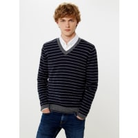 Pepe Jeans LondonGESTREIFTER STRICKPULLOVER NARROW