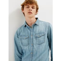 Pepe Jeans LondonJEANSHEMD MIT KNOPFVERSCHLUSS HAMMOND