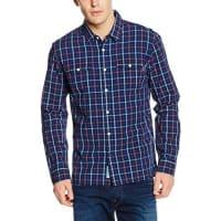 Pepe Jeans LondonHoxtoni, Camisa Hombre, Azul (Blue 551), 40 (Talla del fabricante: Large)