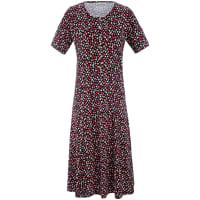 Peter HahnJersey-Kleid aus 100% Baumwolle Green Cotton mehrfarbig