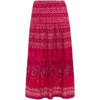 Peter HahnSkirt in 100% cotton from Green Cotton bright pink