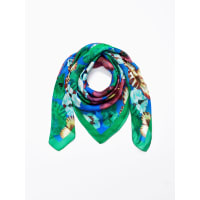 Peter HahnScarf in 100% silk from Peter Hahn green