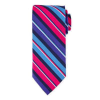 Peter MillarStriped Print Silk Tie, Newport