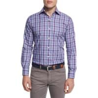 Peter MillarTartan Plaid Long-Sleeve Sport Shirt