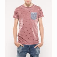 Petrol IndustriesT-shirt met vissenprint
