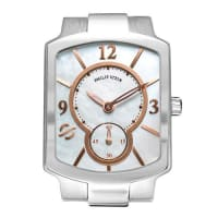 Philip SteinSmall Classic Mother-Of-Pearl & Rose Gold Watch Head