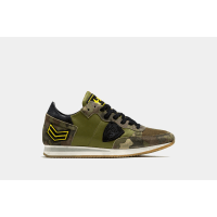 Philippe Modeltropez - low sneakers army camouflage - flash fw16/17