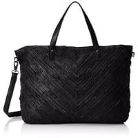 PiecesDamen Pcbondy Leather Travel Bag Henkeltaschen, 47x37x23 cm