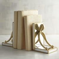 Pier 1 ImportsAntiqued Golden Wishbone Bookend Set