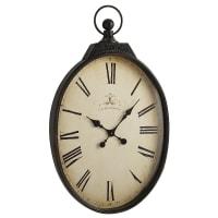 Pier 1 ImportsBlack Antiqued Wall Clock
