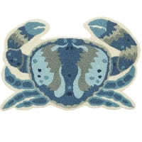 Pier 1 ImportsBlue Crab Blue 2x3 Rug
