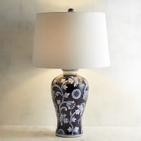 Pier 1 ImportsBlue & White Table Lamp