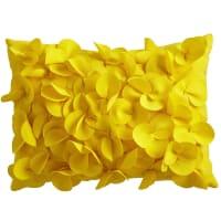 Pier 1 ImportsCabana Petal Lemon Yellow Lumbar Pillow