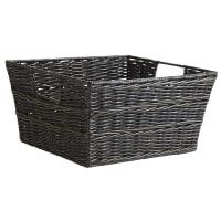 Pier 1 ImportsCollin Mocha Wicker Small Shelf Storage Basket