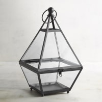 Pier 1 ImportsEldridge Small Black Triangle Metal Lantern