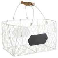 Pier 1 ImportsFarmhouse White Medium Baskets