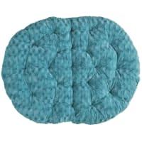 Pier 1 ImportsFuzzy Teal Double Papasan Cushion