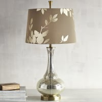 Pier 1 ImportsGold Leaf Glass Table Lamp